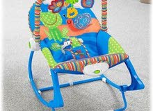 سرير وكرسي هزاز رائع لطفلك لفترة محدوده
