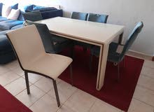 dinning table 70 kg , tv table 30 kd , center table 25 kd , coupred 40 kd
