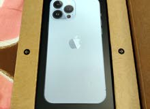 iPhone13ProMax Sierra Blue 128GB U.A.E version Unopened