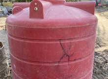 خزان ماء مستخدم اخو جديد سوري المنشأ فيه ثقب صغير وتم اصلاحه جيد جدا