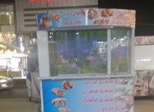 كشك جديد بردات مع اناره 950 يصلح لبيع العصير والشاي سوق الجبيله