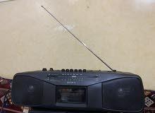 مسجل وراديو سوني sony