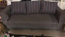 sofa set and dinning table