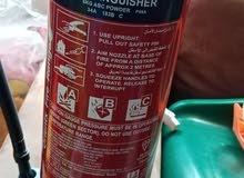 طفايات حريق غير مستعملات 6 كيلو