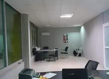 شقة مكتبية للايجار في طريق السور