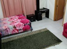 دبي البرشاء 1 غرفه ماستر داخل فيلا إيجار شهري شامل
