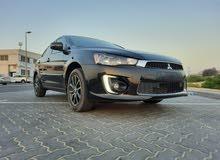 Mitsubishi lancer model 2016 km 58k Full service from Agency