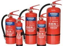 مطلوب شركه بيع وصيانة معدات وادوات أطفاء الحريق