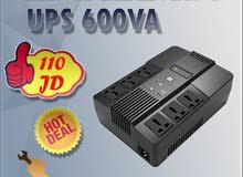 وحدات الطاقة اللامنقطعة UPS  لانظمة المراقبة و شبكات الكمبيوتر  من نوع Linkcomn بسعة 600VA