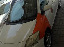 Orange Toyota Yaris 2007 for sale