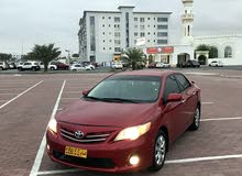 Toyota Corolla 2012 For sale - Red color