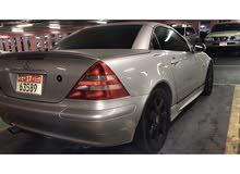 Mercedes  SLK 2.3 low km for sale 2001 ملكيه ورخصه سنه