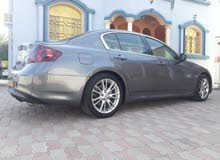 Infiniti G37 car is available for sale, the car is in Used condition