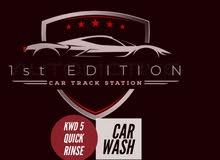Car Traking Wash