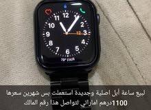 ساعة أبل اصلية جديدة جدا مستعملة شهرين بس