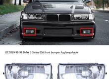 BMW e36 91 98 كشافات وزايده اماميه