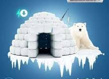 * تكيفات كاريير 3 حصان حائطى بارد ساخن يكفى حتى 30 متر