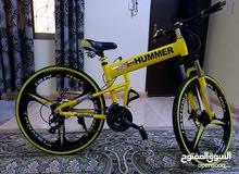 للبيع دراجة هوائية نوعية هامر مستعمل 8 مرات فقط السعر ثابت 45