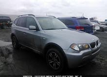 BMW X3 2007 For sale - Grey color