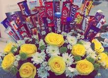تنسيق الهدايا و باقات الورد