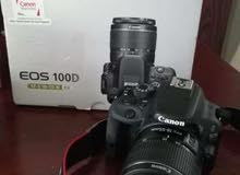 Canon 100D with 18-55mm lense and all accessories.
