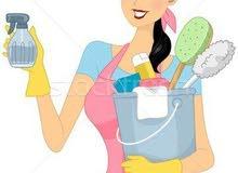 توفير عاملات نظافة باليومية
