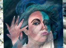 لوحات فنيه مرسومه بريشه احمد عامر