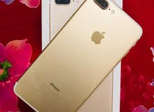 IPhone 7 Plus 32 GB Gold  With Box Charger