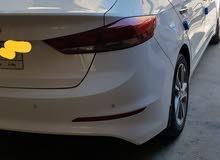 White Hyundai Elantra 2018 for sale