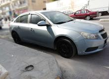 Blue Chevrolet Cruze 2010 for sale