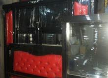 غرفة نوم ماستر تفصيل خشب ﻻتي +فرشه جديده