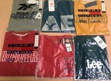 t-shirts cotton limited stocks / لبيع جميع انواع التيشرتات