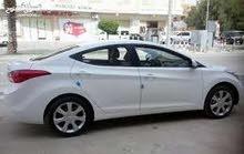 Hyundai Elantra 2016 For Rent - White color