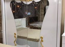الغرفة النوم التركية 6 قطع   بسعر  خياااالي  550$  فقط  يعني بالعراقي ب