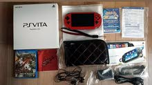 Limited edition Sony PS Vita (Metallic red)