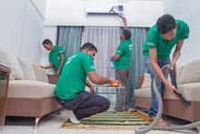 شركة تنظيف منازل وغسيل الخزانات وتنظيف الكنب والسجاد بالبخار   شركة صقر البشاير