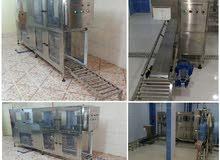 خطوط إنتاج (مكائن تعبئة مياه أوتوماتيكية) صينية*