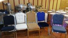 تآجير كراسي وخيم وطاولات جميع المقاسات والألوان.