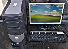 for slae dell desktop للبيع كمبيوتر مواصفاته ممتازة