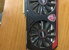 كرت شاشة amd r9 290 gaming 4g msi للبيع + مثر بورد r79 msi gaming