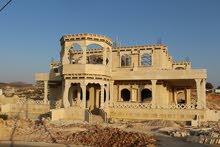 قصر  قيد الانشاء في كفرنجا
