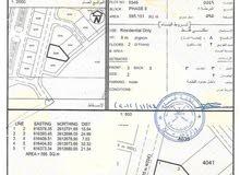 للبيع أرض سكنية في المعبيلة السادسة قريبة من جامع الجليل