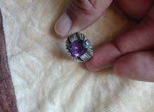 خاتم من الجمشت