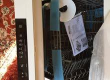 غسالة LG  جديدة غير مستعملة  سبب البيع ما تجيش في مطبخي لوحة تحكم غاطسة لمنع لمس
