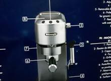 مكينة قهوه جديده تم تجربتها فقط