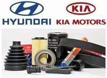خصم 50 % الى 70%  على جميع قطع الغيار الاصلية لسيارات هيونداي و كيا ( genuine parts )