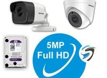 كاميرات مراقبة  وأجهزة الحمايه ضد السرقه