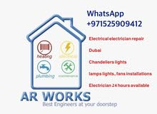 Electrical electrician repair services