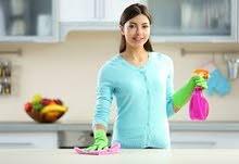 خادمه تطلب عملا في التنظيف المنازل..بنظام يومي.يومي فقط.ت 0785778007