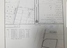 للبيع ارض سكنية كورنر ممتازة في بركاء مزرع الحرث على شوارع مرصوفة